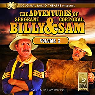 The Adventures of Sgt. Billy & Corp. Sam, Vol. 2 audiobook cover art