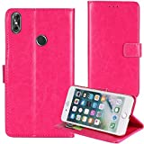 TienJueShi Rosa Book-Style Flip Leather Protector Case