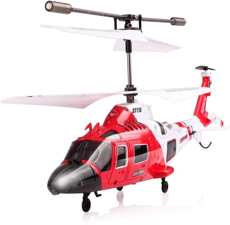 AXJJ RC Hubschrauber Rc Helikopter LED Licht 3.5CH Hubschrauber Fernbedienung RC Drohne Bruchsicher RC Flugzeug Spielzeug Geschenk für Kinder