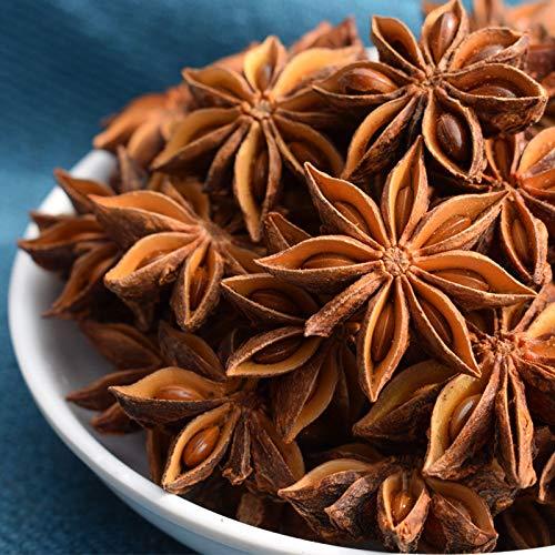 KONGZIR. 10g anyż gwiazdki anyż anylizium verum suszony kwiat domowy kuchnia gotowanie dostaw fałszywych kwiatów suszonych kwiatów dekoracji