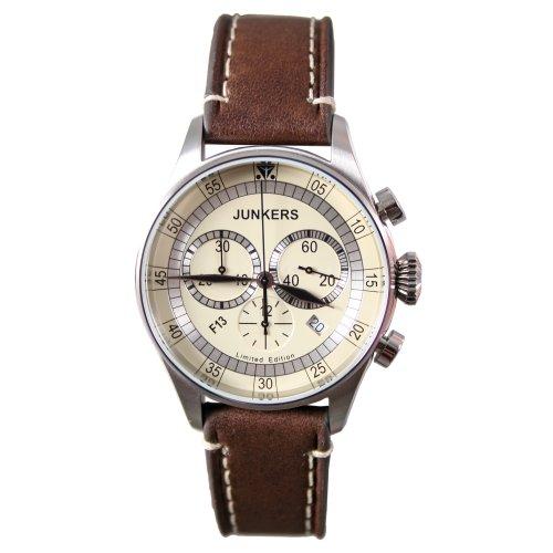Junkers Herren-Armbanduhr Chronograph 6180-4/F13