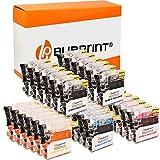 Bubprint Kompatibel Druckerpatronen als Ersatz für Brother LC-1100 LC-980 für DCP-145C DCP-195C DCP-165C MFC-250C MFC-490CW MFC-5490CN MFC-5890CN MFC-6490CW 30er-Pack