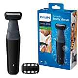 Philips Serie 3000 BG3010/15 - Afeitadora corporal apta para la ducha con 1 peines-guia 50 min de uso