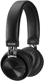 Acme Made BH203 - Auriculares (Inalámbrico y alámbrico, Diadema, Binaural, Supraaural, 20-20000 Hz, Negro)