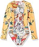 Maaji girls Set One Piece Swimsuit, Orange, 6 US