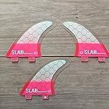 Slab-Surf Fins Thruster hexacore Half PinkFCS Talla L
