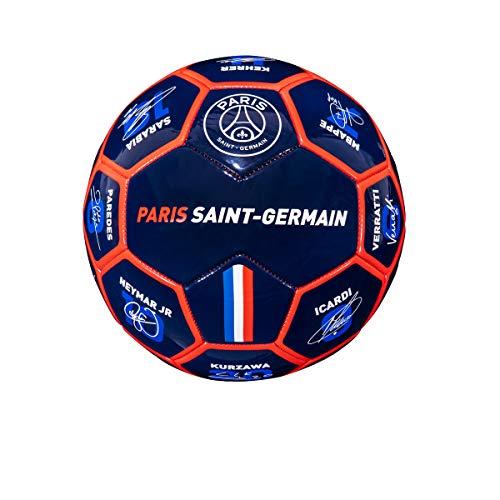 WEEPLAY Fußball mit Unterschrift der Spieler, offizielle Kollektion Paris Saint-Germain, Größe 5