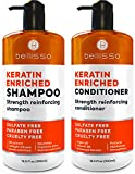 Best Frizz Shampoos - Keratin Shampoo and Conditioner Set - Sulfate Free Review