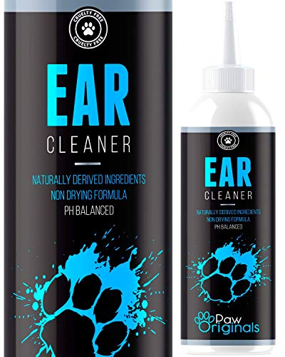 Ear Cleaner For Dogs Wash - Stop Itching, Bad Ear Odour Smell & Head Shaking - Anti Viral Formula - Recommended By UK Vets - 250ML - Made In The UK - From The No 1 UK Pet Grooming Brand