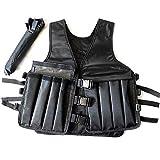 Gewichtsweste, Verstellbare Workout-Trainingsjacke Für Krafttraining, Taillentrainer Zum Aufwärmen...