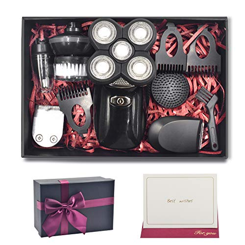 Gifts for Men Boyfriend Husband Him: Electric Shaver for Men & Grooming Kit, Bald Head Shavers for Men, Unique Valentine Christmas Anniversary Birthday Gifts Ideas