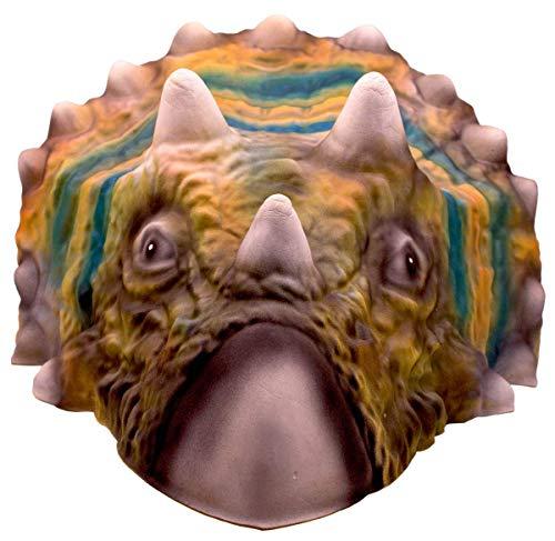 Folat 61386 - Maske Dinosaurier Triceratops - ca. 32 x 30 cm