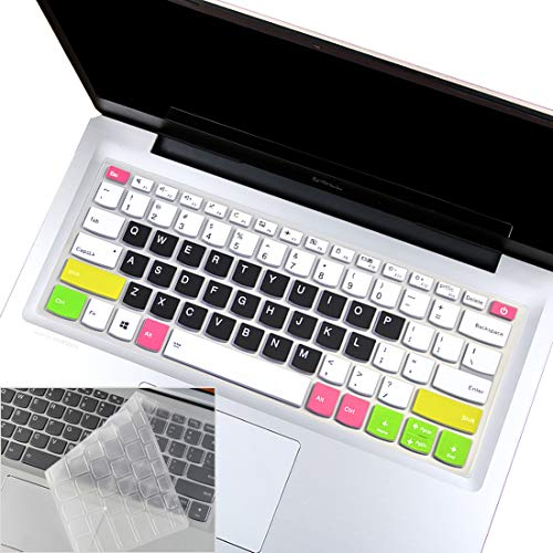 2Pcs Keyboard Cover Skin for Lenovo Yoga C930 930 920 13.9', Lenovo Yoga 720 720S 730 13.3', Lenovo Yoga 720 12.5', Lenovo Yoga 730 15.6', Lenovo Flex 14 14', Lenovo Ideapad 720s 13' 14'