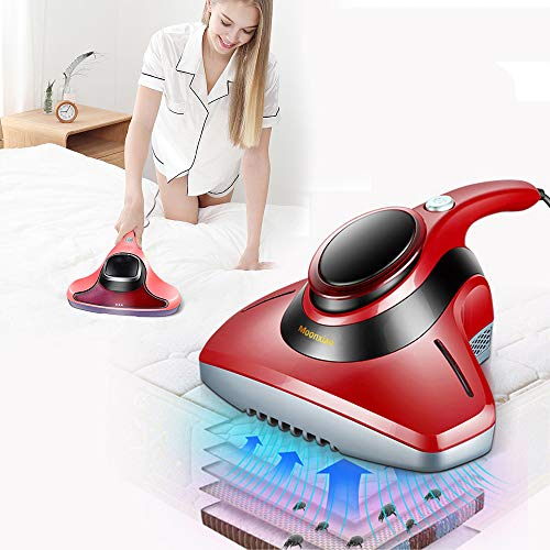 Handheld Vacuum Cleaner,UV Sterilizer Killing Bed Bugs Mite Removal Machine with Sterilization Function for Bed Sheets, Mattresses, Pillows, Cloth Sofas, Carpets of Allergens