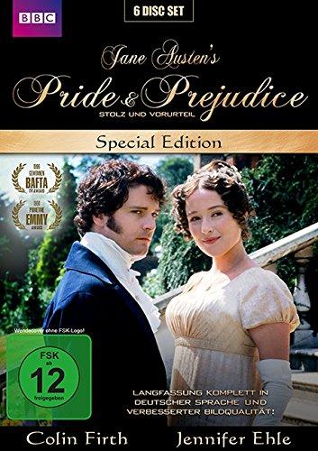 Stolz und Vorurteil - Pride & Prejudice - Jane Austen (New Edition / Special Edition) (6 DVDs)