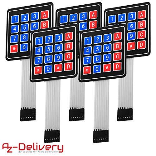 Amazon.de - 4x4 Matrix Keypad Membrane Switch For Arduino 12 Keys