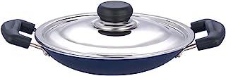 TABAKH Appachetty Non Stick Appam Pan, 200mm,Medium,Black