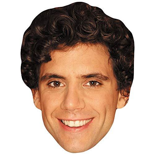 Celebrity Cutouts Michael Holbrook Penniman Jr. (Smile) Big Head. Larger than life mask.