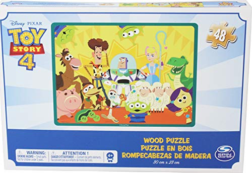 Toy Story 4, Puzzle In Legno