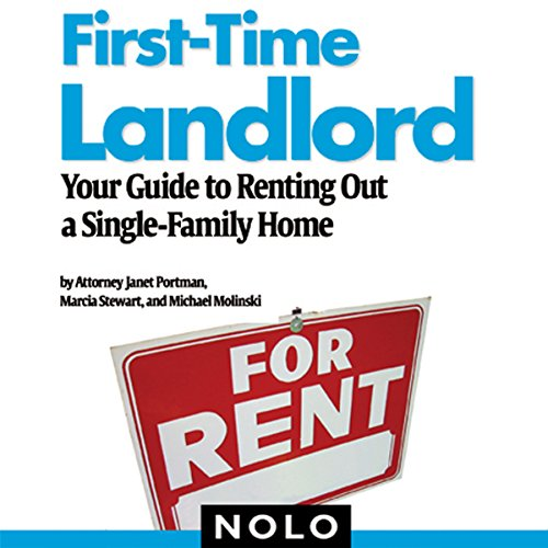 First-Time Landlord cover art