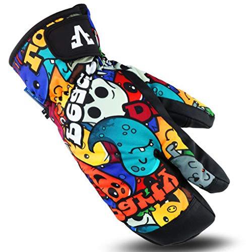 MYMAO Waterdichte Ski Handschoenen Thermische Winter Warm Handschoenen Snowboarden Handschoenen voor Fietsen Hardlopen Klimmen Wandelen Outdoor Sport
