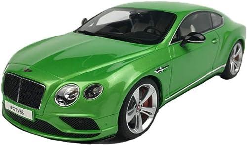 entrega rápida Maisto 1 18 Bentley Bentley Continental GT GT GT V8 S Modelo de aleación de aleación de Metal para Niños Colección de Juguetes Modelos Escala Vehículos ( Color   verde )  para barato