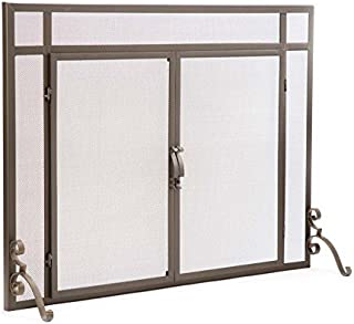 extra large fireplace screens