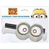 Paper Despicable Me Goggles (8 Count)