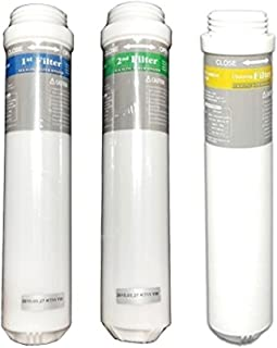 TYENT Rettin Compatible Replacement Ionizer Filter Set 1st (IFTO-0010) + 2nd (IFTO-0010) + Cleaning for MMP5050/7070/9090/11T