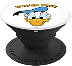 Disney Donald Duck Smile Face PopSockets Grip and Stand for Phones and Tablets
