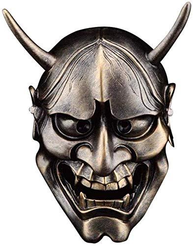 S$S Halloween Horror Grimassa Red en White Ghost Academy vlinder geest-hoofd masker Japanse krijgers,A