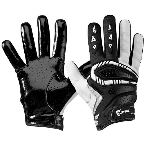 Cutters Gamer Padded Receiver Football Gloves,...