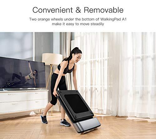 Houozon Cinta de Correr Plegable, Cinta de Correr eléctrica Inteligente WalkingPad A1, máquina de Caminar, Equipo de recuperación física X Equipo de ecosistema.