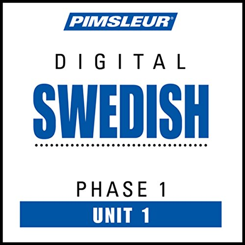 Swedish Phase 1, Unit 01 audiobook cover art