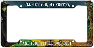 Graphics and More Wizard of Oz Wicked Witch Character License Plate Tag Frame