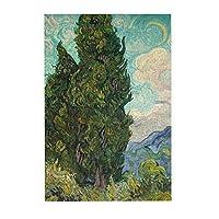 300ピース ジグソーパズル ゴッホ 糸杉 1889 ジグソーパズル Puzzle (38x26cm)