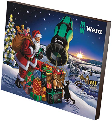 Wera Calendrier de l'avent 2020 Adventskalender, 24 pièces