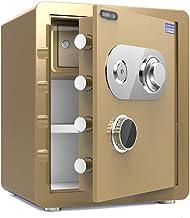 Cabinet Safe Fireproof Waterproof Anti-Theft Invisible Lock Box Digital Cash Box Money Jewelry File Storage Cabinet Mechan...