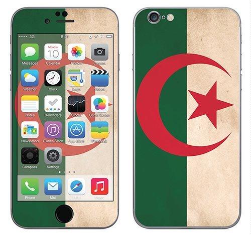 Royal Muurtattoo RS. 90854 zelfklevend voor iPhone 6 met motief vlag van Zuid-Afrika