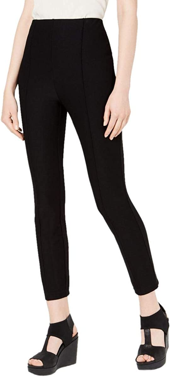 EILEEN FISHER Women's Pull-on Seamed Ankle Casual Pants