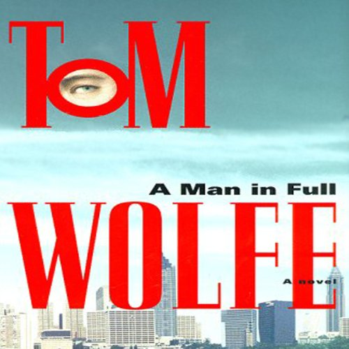 A Man in Full audiobook cover art