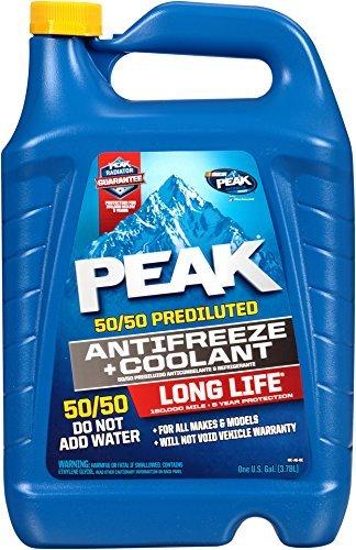 PEAK PRAB53-6PK Long Life 50/50 Antifreeze - 1 Gallon, Pack of 6