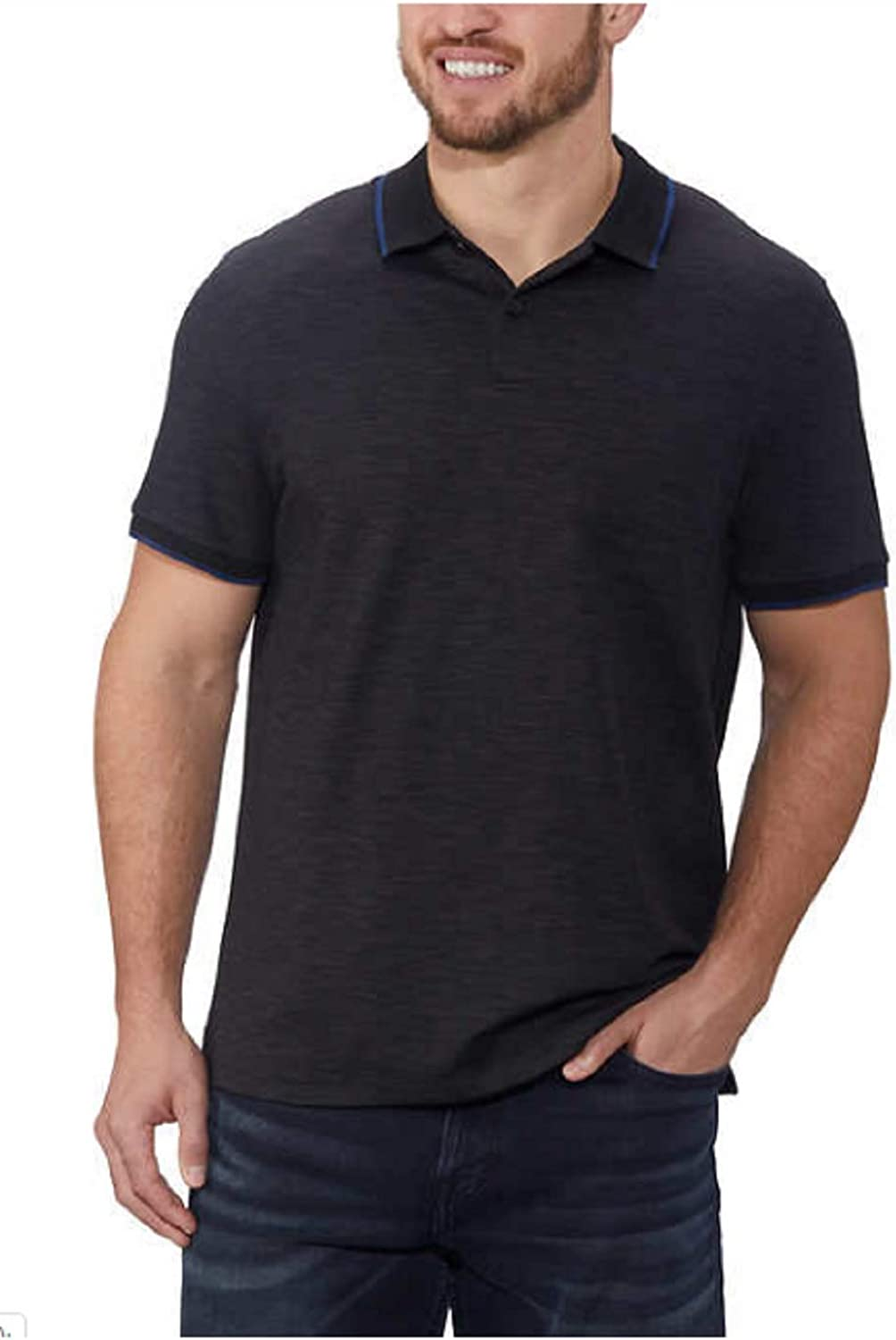 Calvin Klein Men's Lifestyle Excellence Liquid Touch Polo Shirt Manufacturer regenerated product