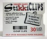 Stikki Clips Standard - Box of 30 by Stikkiworks