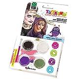 Carnival Toys - Kit de Maquillaje al Agua Profesional de Bruja, con Pincel en Caja, Multicolor (7386)