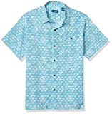 Faded Triangles All Over Print Regular Collar Style With Contrast Stand Full Button Up Center Front Chest Pocket With Button Caribbean Joe is an ageless brand for those who live in the moment. It's about mothers and daughters, fathers and sons, grand...