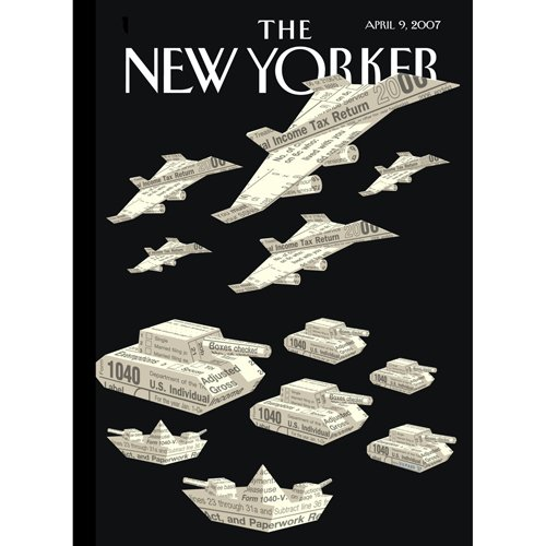 The New Yorker (April 9, 2007) audiobook cover art