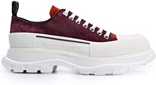Luxury Fashion | Alexander Mcqueen Men 627225WHBGN6349 Red Leather Sneakers | Autumn-winter 20