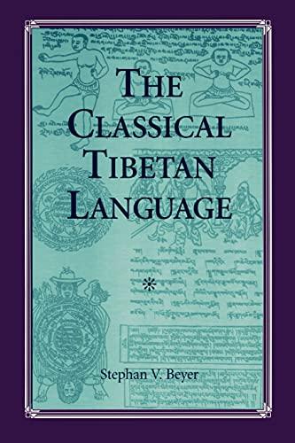 The Classical Tibetan Language (Suny Series in Buddhist Studies)