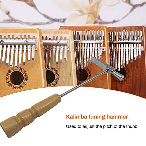 NA Martillo de afinación portátil para Kalimba mango de